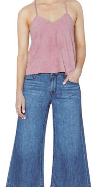 Preload https://img-static.tradesy.com/item/24103060/-washed-up-medium-wash-palazzo-cropped-denim-pants-trouserwide-leg-jeans-size-2-xs-26-0-1-650-650.jpg