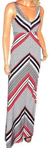 red/white/blue Maxi Dress by Love Tree Maxi
