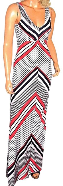 red/white/blue Maxi Dress by Love Tree Maxi Image 0