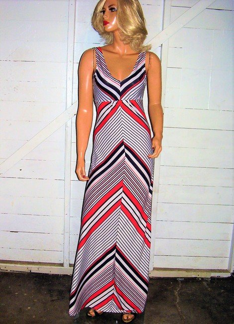 red/white/blue Maxi Dress by Love Tree Maxi Image 6