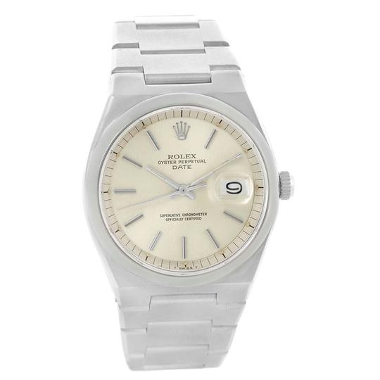 Rolex Rolex Oyster Perpetual Date Vintage Mens Stainless Steel Watch 1530 Image 1