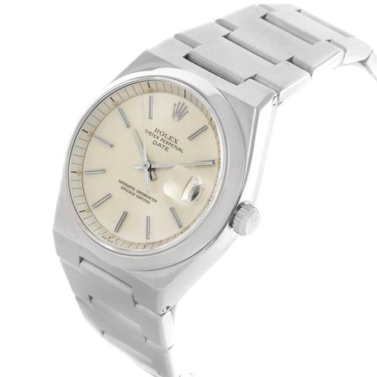 Rolex Rolex Oyster Perpetual Date Vintage Mens Stainless Steel Watch 1530 Image 3