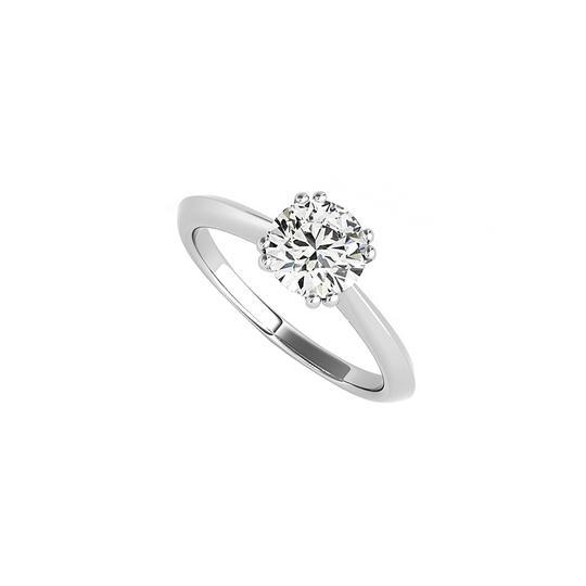 Preload https://img-static.tradesy.com/item/24103325/white-100-ct-cz-solitaire-engagement-in-14k-gold-ring-0-0-540-540.jpg