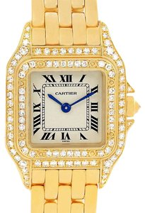 Cartier Cartier Panthere 18k Yellow Gold Diamonds Ladies Watch WF3072B9