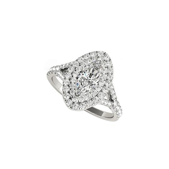 Preload https://img-static.tradesy.com/item/24103356/white-double-halo-marquise-cz-engagement-gold-ring-0-0-540-540.jpg