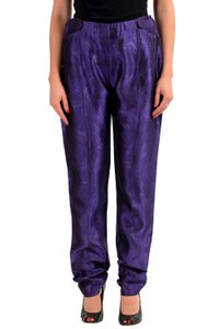 Gianfranco Ferre Flare Pants Purple