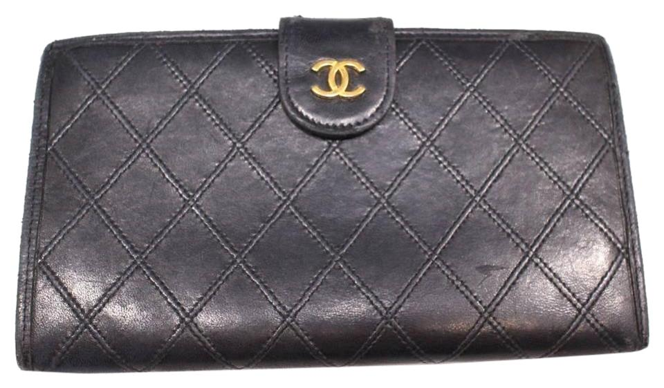 d5c0887fc42f Chanel  1st Dibs  Quilted Lambskin Bifold Long Flap Wallet 230169 ...