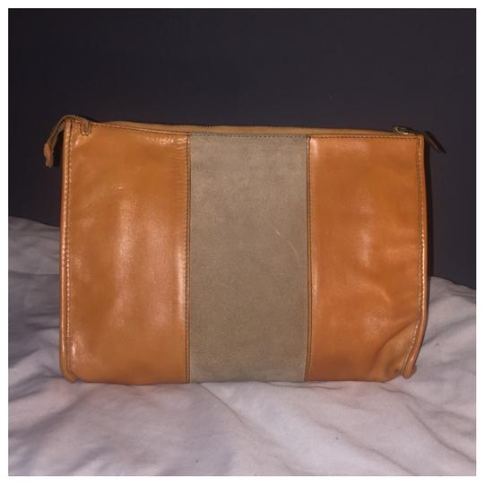 Dior Authentic Vintage Christian Dior Brown Clutch Leather Image 1