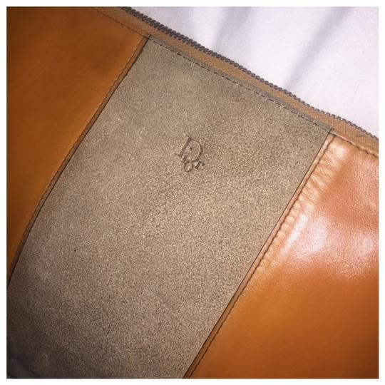 Dior Authentic Vintage Christian Dior Brown Clutch Leather Image 4
