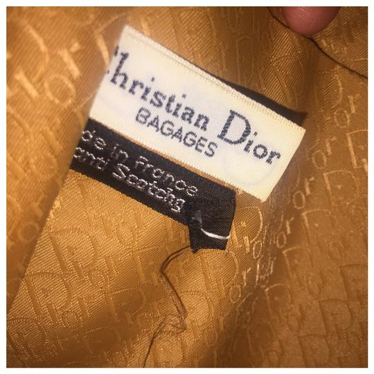 Dior Authentic Vintage Christian Dior Brown Clutch Leather Image 7