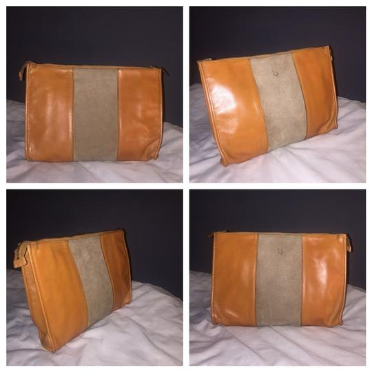 Dior Authentic Vintage Christian Dior Brown Clutch Leather Image 8