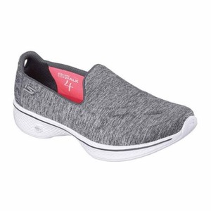 Skechers Gray White Athletic