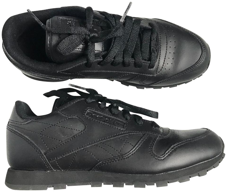 Reebok Black Classic Lace-up Sneakers Sneakers Size US 5 Regular (M ... a1135c684