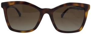 Chanel Bijuo Havana Black Brown Polarized Sunglasses 5374BA 1425S9