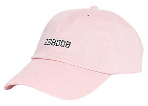 Zumiez BOOBIES 8008132 Pink Black Dad Hat Baseball Cap
