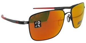 Oakley Unisex Sports Sunglasses Metal & Plastic Frame with Prizm Ruby Lens