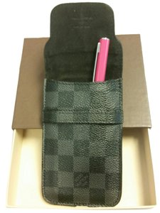 Louis Vuitton Louis Vuitton Damier Graphite Pen Case WITH BOX