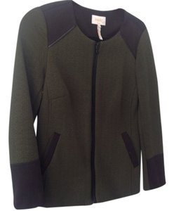Laundry by Shelli Segal Olive Green/black Blazer