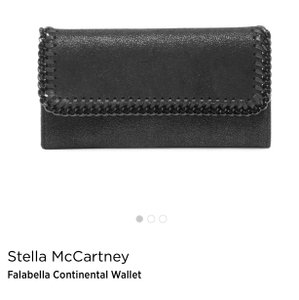 Stella McCartney Falabella vegan leather continental wallet