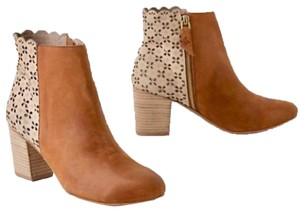 Anthropologie Leather Fall brown Boots