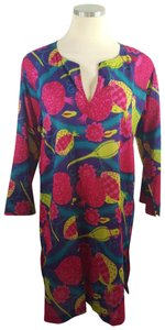 Gretchen Scott short dress Multi Color Tunic Sheer Parrot Oversized on Tradesy
