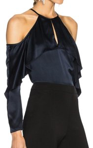Cushnie et Ochs Top Navy Blue