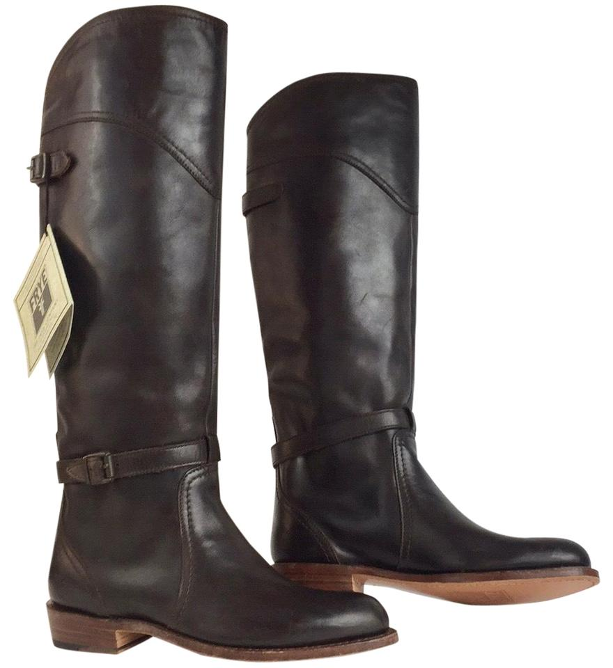 2f96d33a0 Frye Brown New Leather Riding Winter Boots/Booties. Size: US 6 Regular ...