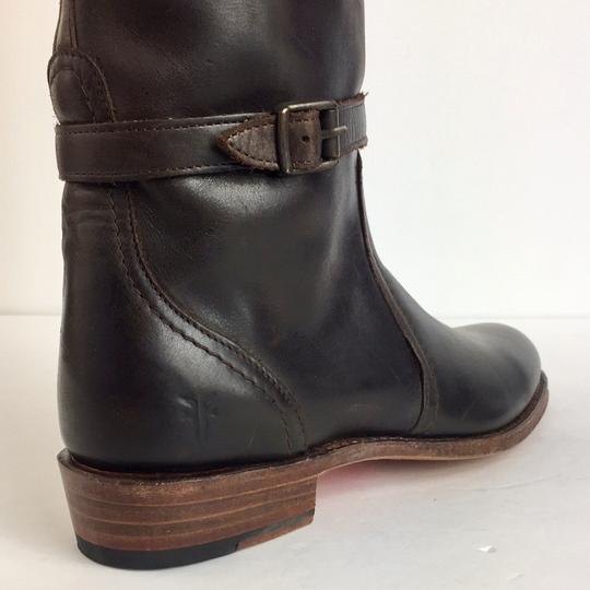 1bae67625 Frye Brown New Leather Riding Winter Boots/Booties Size US 6 Regular ...