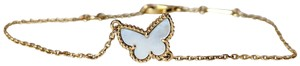 Van Cleef & Arpels Mother of Pearl Sweet Alhambra Butterfly Papillion