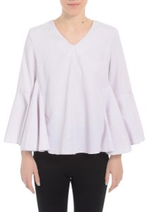 Romeo & Juliet Couture Romeo&julietcouture Striped Bellsleeve Top Pink