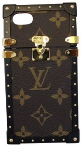Louis Vuitton LOUIS VUITTON Eye-Trunk Monogram Eclipse IPhone 7 Case