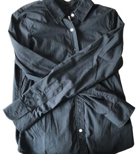 Boy. by Band of Outsiders Button Down Shirt black