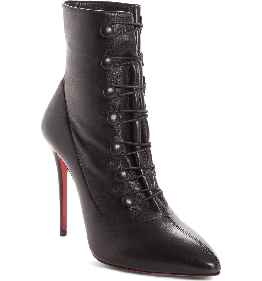 c4e837411b74 Christian Louboutin Black New French Tutu Pointy Toe 39 Boots Booties Size  US 9 Regular (M