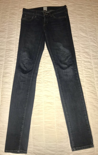 Rich & Skinny Fitted Ankle Wash Skinny Jeans-Medium Wash