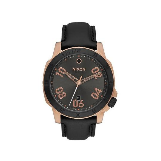 Preload https://img-static.tradesy.com/item/24106043/nixon-black-a508-2308-men-s-leather-bracelet-with-gunmetal-analog-dial-watch-0-0-540-540.jpg