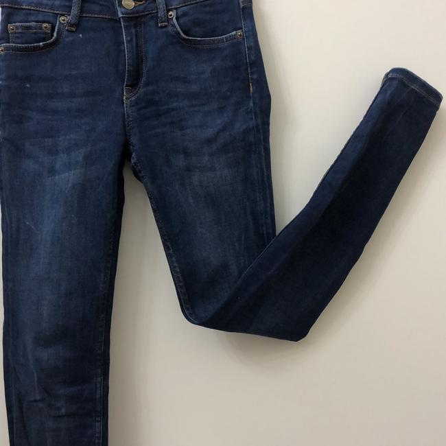 Zara Skinny Jeans-Medium Wash