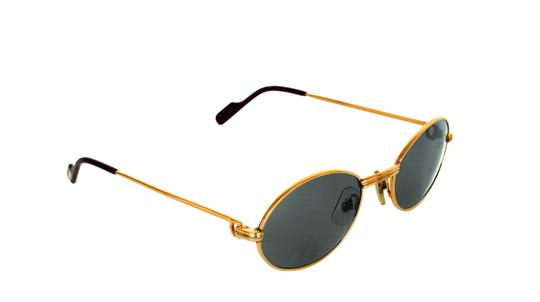 Preload https://img-static.tradesy.com/item/24106089/cartier-gold-vintage-saint-honore-90-s-rare-sunglasses-0-0-540-540.jpg