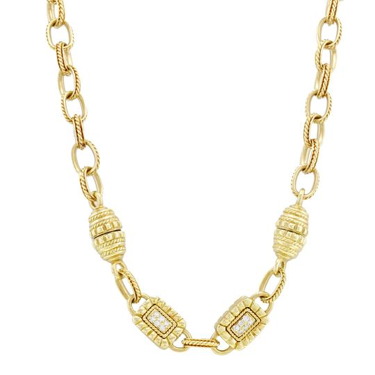 Preload https://img-static.tradesy.com/item/24106135/yellow-diamonds-women-s-vintage-18k-gold-080-cttw-necklace-0-0-540-540.jpg