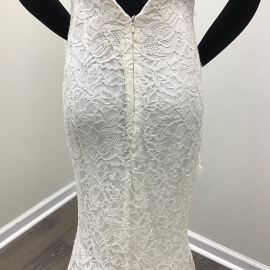 Theia Ivory Chantilly Lace Daphne Casual Wedding Dress Size 2 (XS)