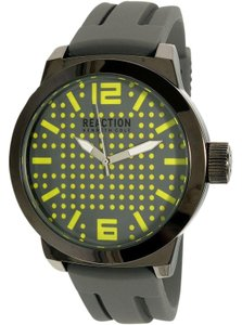 Kenneth Cole 10030578 Men's Grey Silicone Band With Grey Analog Dial Watch
