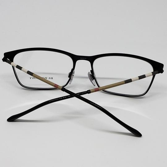 Burberry Unisex Square Eyeglasses Metal Frame with Demo Lens