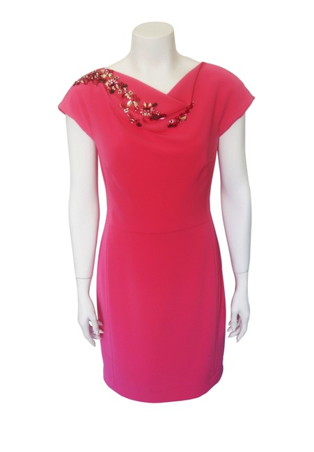 Preload https://img-static.tradesy.com/item/24106163/escada-pink-mid-length-cocktail-dress-size-6-s-0-0-650-650.jpg