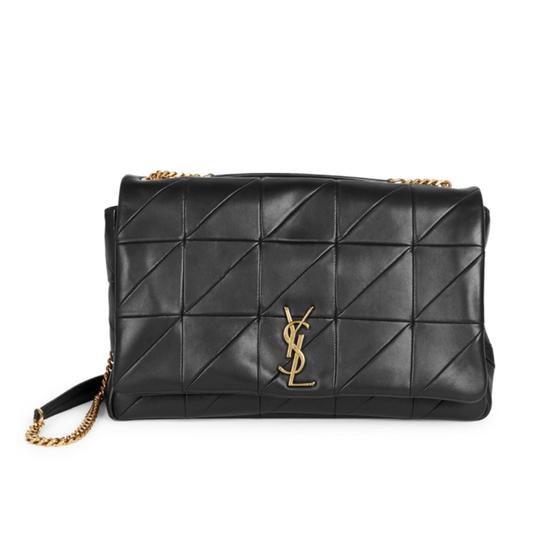 Preload https://img-static.tradesy.com/item/24106174/saint-laurent-jamie-quilted-adds-timeless-element-black-leather-shoulder-bag-0-1-540-540.jpg