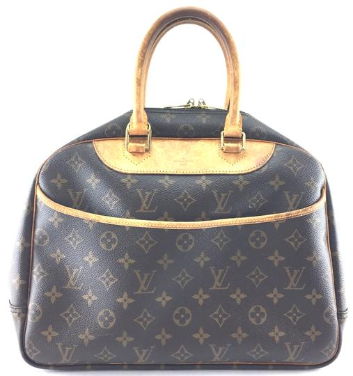 Preload https://img-static.tradesy.com/item/24106188/louis-vuitton-deauville-22649-cosmetic-vanity-case-beauty-makeup-monogram-coated-canvas-satchel-0-1-540-540.jpg
