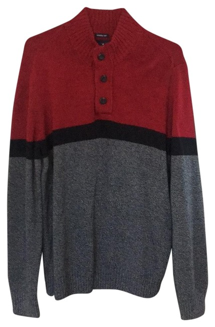 Preload https://img-static.tradesy.com/item/24106196/american-eagle-outfitters-014-1149-02331-1291-600-27148295-grey-black-and-red-sweater-0-1-650-650.jpg