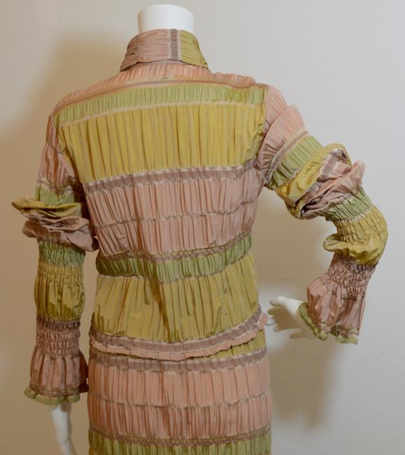 Italian Designer Italian Designer Ruched Two Piece Outfit