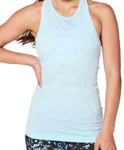 Lululemon NWT lululemon swiftly tech T-back Size 10 Blue glow