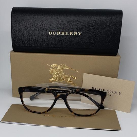 Burberry Women Oval Eyeglasses Plastic Frame with Demo Lens