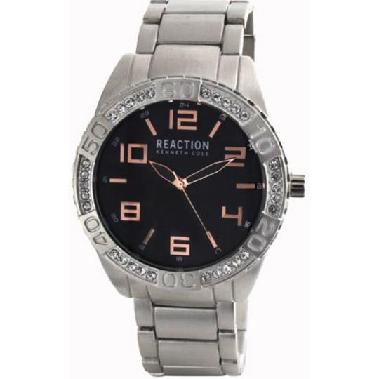 Kenneth Cole 10031250 Men's Silver Steel Band With Grey Analog Dial Watch