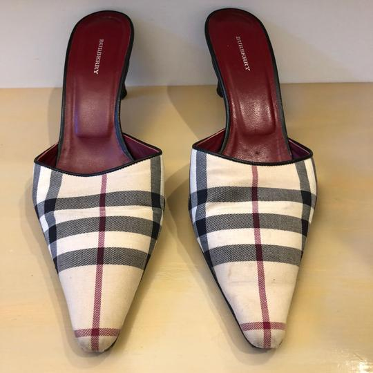 Burberry Heels Burberry Plaid Mules